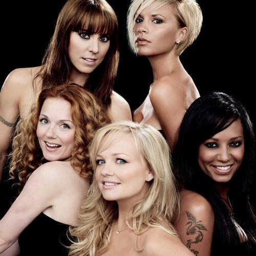 The Spice Girls 2 Become 1 cover art