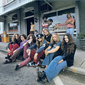 Lynyrd Skynyrd Down South Jukin' cover art