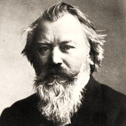 Lullaby sheet music by Johannes Brahms