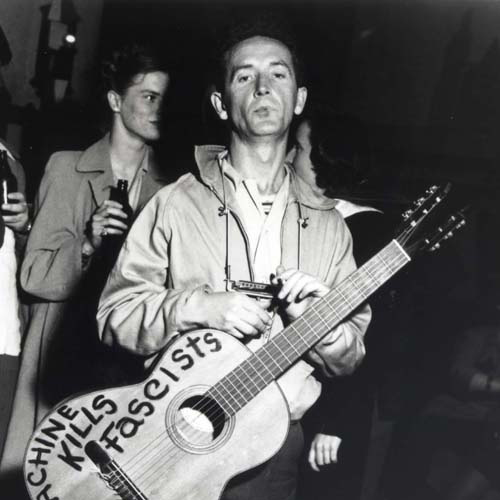 Woody Guthrie This Morning I Am Born Again cover art
