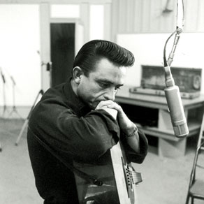 Johnny Cash Bound For The Promised Land cover art