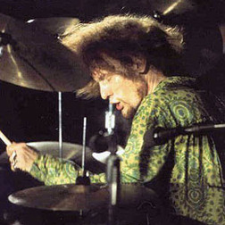 Ginger Baker: Drag Paradiddle, Double Drag Paradiddle