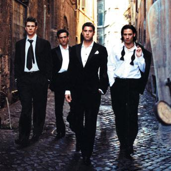 Il Divo Amazing Grace cover art