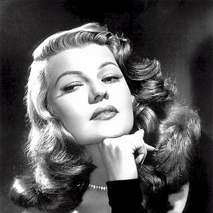 Rita Hayworth Put The Blame On Mame cover art