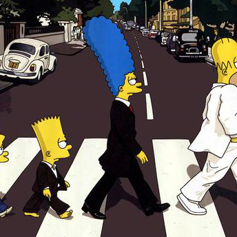 The Simpsons He's The Man cover art