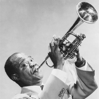 Louis Armstrong On The Sunny Side Of The Street cover art