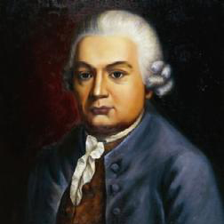 Solfeggio sheet music by Carl Philipp Emanuel Bach