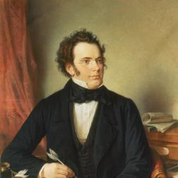 Litaney sheet music by Franz Schubert