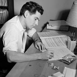 Cool sheet music by Leonard Bernstein