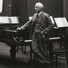 Waltz sheet music by Bela Bartok
