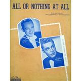 All Or Nothing At All sheet music by Frank Sinatra