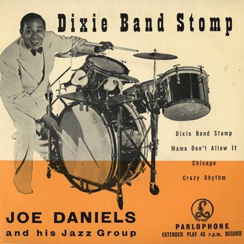 Joe Daniels Dixie Band Stomp cover art