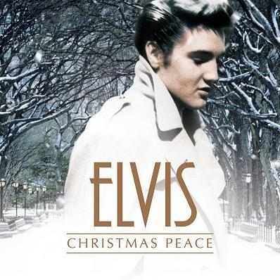 Elvis Presley Blue Christmas cover art
