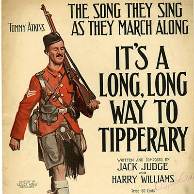 Jack Judge It's A Long Way To Tipperary cover art