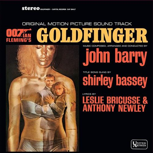 Shirley Bassey Goldfinger (theme from the James Bond film) cover art