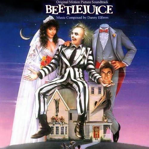 Danny Elfman Beetlejuice cover art