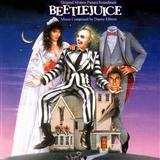 Beetlejuice sheet music by Danny Elfman
