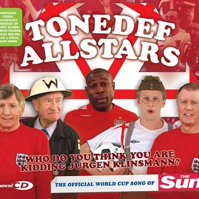 Tonedef Allstars Who Do You Think You Are Kidding, Jurgen Klinsmann? cover art