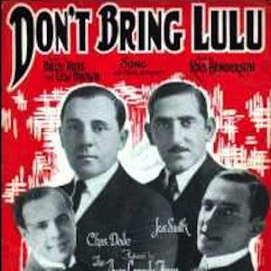 Lew Brown Don't Bring Lulu cover art