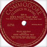 She's Funny That Way sheet music by Richard A. Whiting