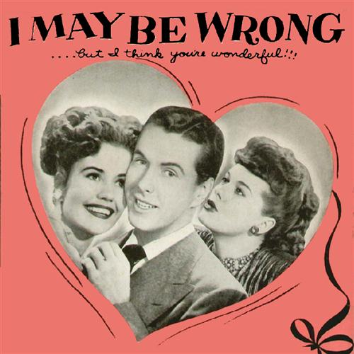 Henry Sullivan I May Be Wrong (But I Think You're Wonderful) cover art