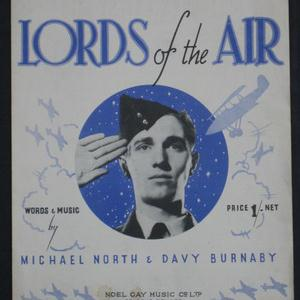 Michael North Lords Of The Air cover art