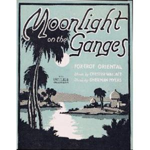 Sherman Myers Moonlight On The Ganges cover art