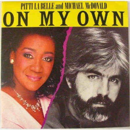 Patti LaBelle & Michael McDonald On My Own cover art