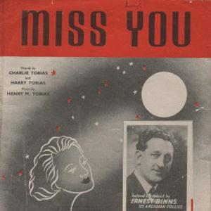 Charlie Tobias Miss You cover art