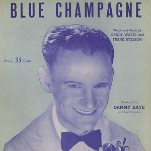 Grady Watts Blue Champagne cover art