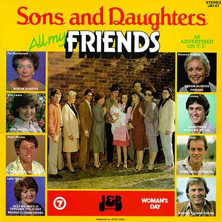Peter Pinne Theme From Sons And Daughters cover art
