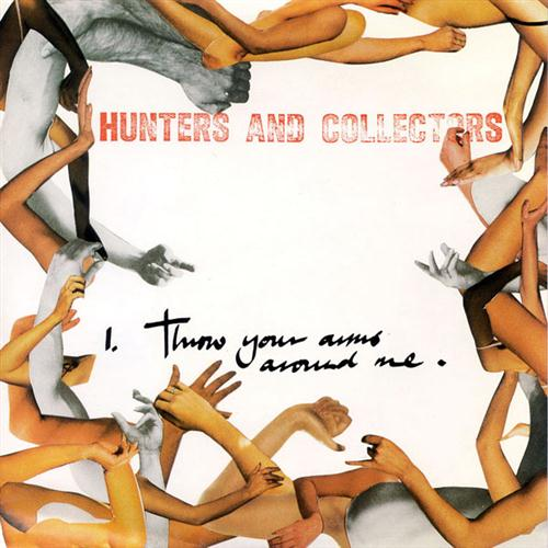 Hunters & Collectors Throw Your Arms Around Me cover art