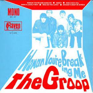 The Groop Woman You're Breaking Me cover art