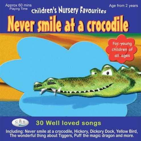 Jack Lawrence Never Smile At A Crocodile cover art