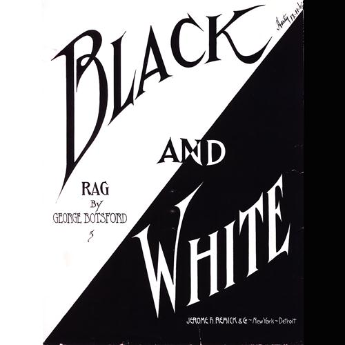 George Botsford Black And White Rag cover art