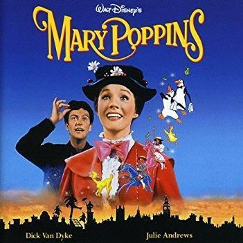 Julie Andrews Supercalifragilisticexpialidocious (from Mary Poppins) cover art