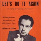 Let's Do It Again sheet music by Ray Hartley