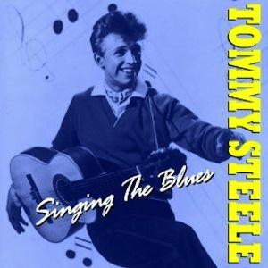 Tommy Steele Singing The Blues cover art