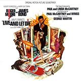 Live And Let Die (theme from the James Bond film) sheet music by Paul McCartney & Wings