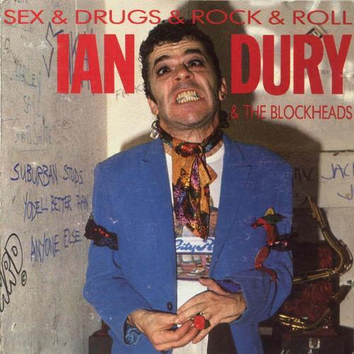 Ian Dury & The Blockheads Sex And Drugs And Rock And Roll cover art