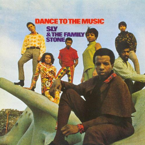 Sly & The Family Stone Dance To The Music cover art
