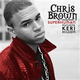 Superhuman (feat. Keri Hilson) sheet music by Chris Brown
