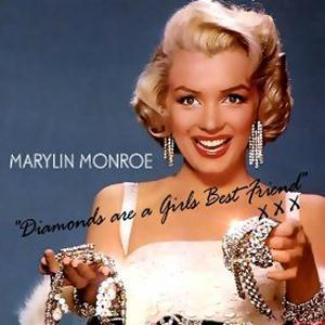 Marilyn Monroe Diamonds Are A Girl's Best Friend cover art