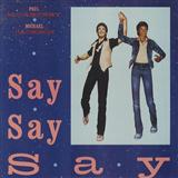 Say Say Say sheet music by Paul McCartney & Michael Jackson
