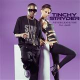Never Leave You (feat. Amelle) sheet music by Tinchy Stryder