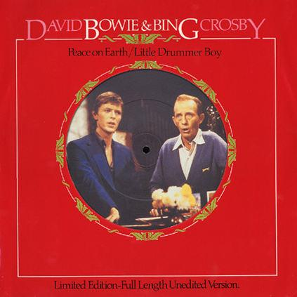 David Bowie & Bing Crosby Peace On Earth / Little Drummer Boy cover art