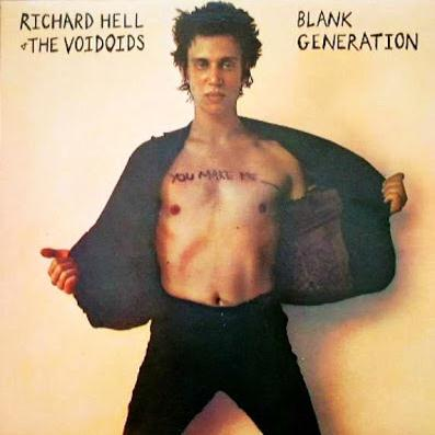 Richard Hell & The Voidnoids Blank Generation cover art