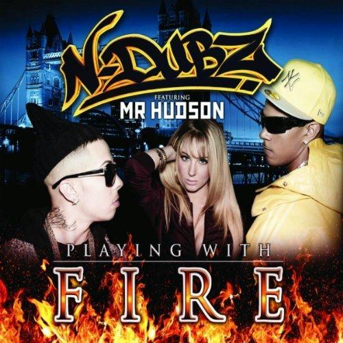 N-Dubz Playing With Fire (feat. Mr. Hudson) cover art