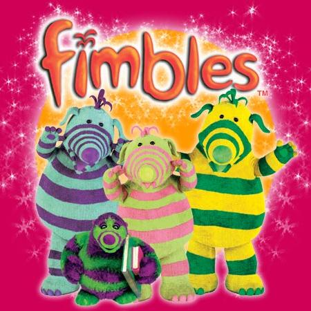 Paul Joyce We're The Fimbles (theme from The Fimbles) cover art