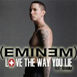 Love The Way You Lie (feat. Rihanna) sheet music by Eminem